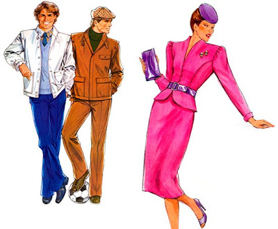 Eighties Fashion  Girls on Across Some Sketches Of The 80 S Fashion In Fewer Words Almost All The