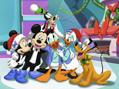 Disney Christmas Backgrounds