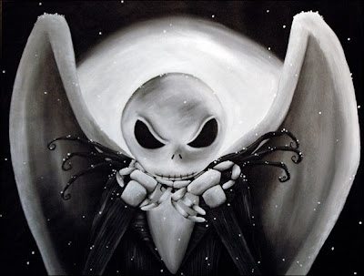 Jack Skellington in Nightmare Before Christmas