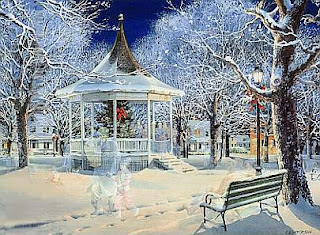 Christmas Scene Backgrounds