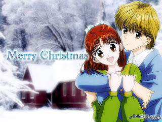 Anime Christmas Background