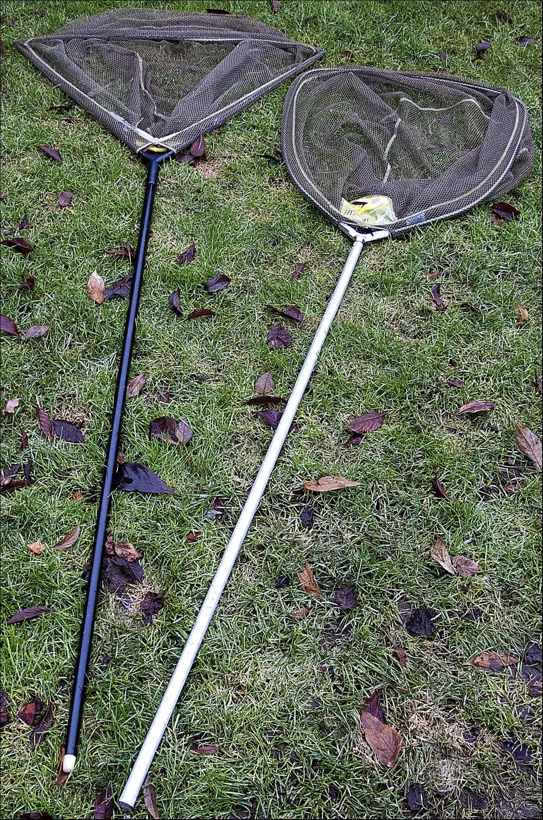 C r use a landing net or not page 6 for Long handle fishing net