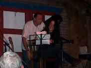 José Antonio, Henya y Tony Almo