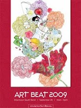 2009 Art Beat South Bend Official Poster