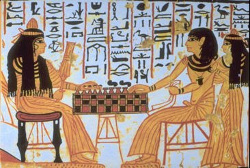 historic life styles: entertainment in ancient egyptian society, Powerpoint templates