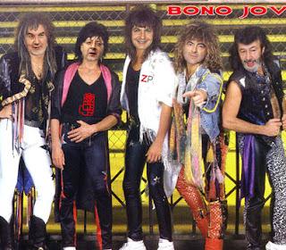 Parodia del PSOE con el grupo de Bon Jovi