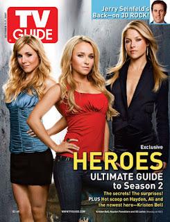 Kristen Bell, otra rubia más en el reparto de Héroes. Ya son 3.