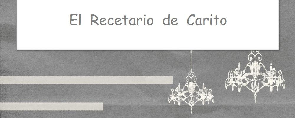 El Recetario de  Carito.