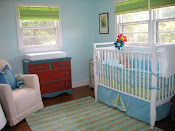 The Nursery - Crib and Dresser/Changing Table
