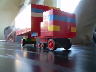 A lego Mac truck