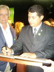 Posse do conselheiro Estadual Antidrogas - Hamilton Henrique Siqueira