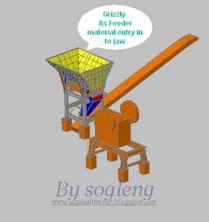 asphalt plant drawing