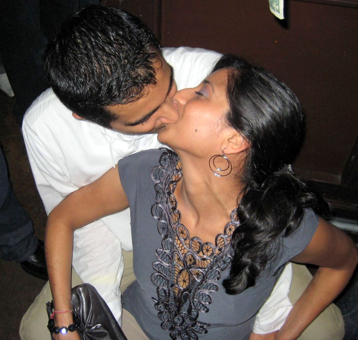 Desi Girl Kissing Kiss