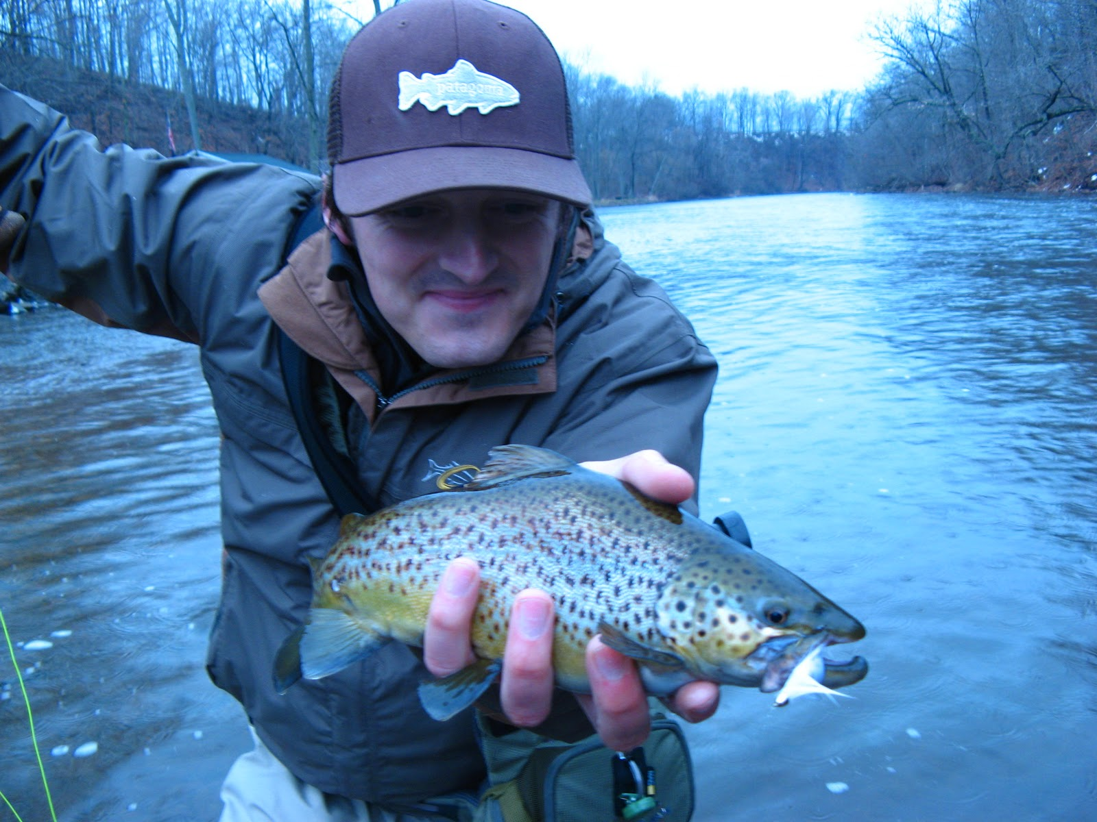 Wny fly fishing wny fly fishing report 01 1 11 for Oak orchard fishing report