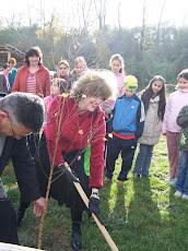 Faültetés a Csadó-tanyán, Drégelypalánk