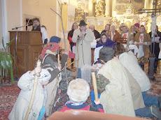 Betlehemezés Szlovákiában, december 21.