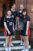 Continuing the sporting achievements, a team of Bolton School girls competed .