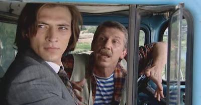 Антон Феоктистов и Сергей Баталов в сериале Два цвета страсти.