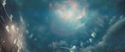 Скриншот из фильма Ангелы и Демоны. Взрыв антиматерии.