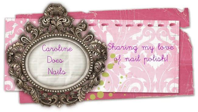 Caroline does nails!