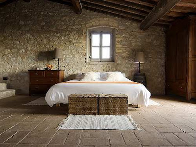 we'd share some tips on Italian style, both rustic and country