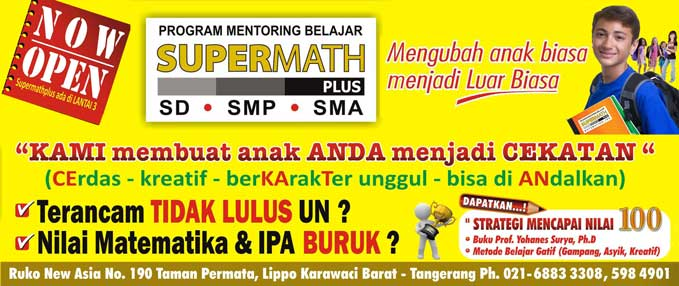 Supermath Plus Kursus Matematika Ipa Fisika