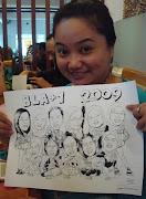 BLA+1's caricature
