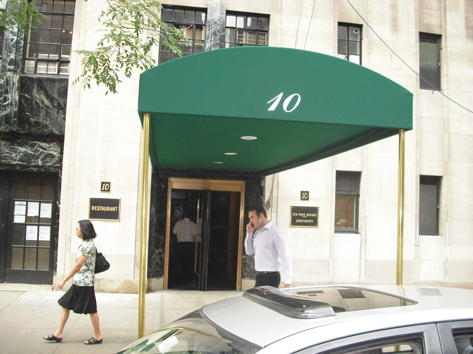 10 Park Ave NYC Glendale Awning Company