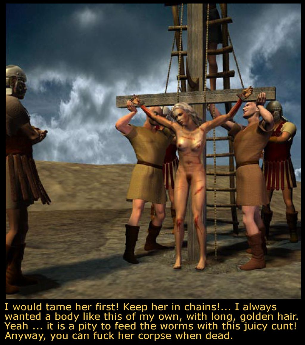 Bdsm crucified girls though