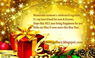 New Year 2011 Greetings Card