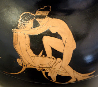 There ancient greek porn charming message