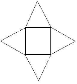 Cermat Matematika Sekolah Dasar Gambar Jaring Jaring Limas Segi Empat