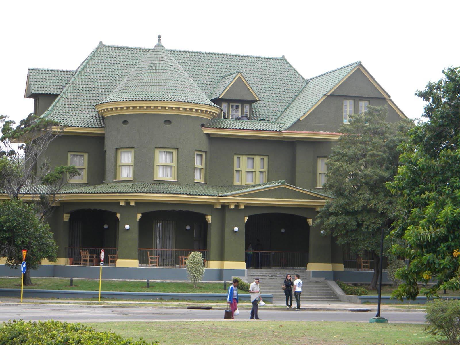 La casa verde - Casas color verde ...