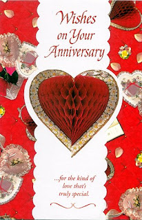Romantic Wedding Anniversary Cards