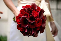 romantic red bouquet pictures