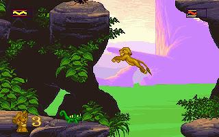 lion king computer game 1994