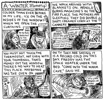 lynda barry essay Lynda barry's short memoir, the sanctuary of school, is a recollection from her early years as a child in elementary school barry illustrates that, as a child, she.