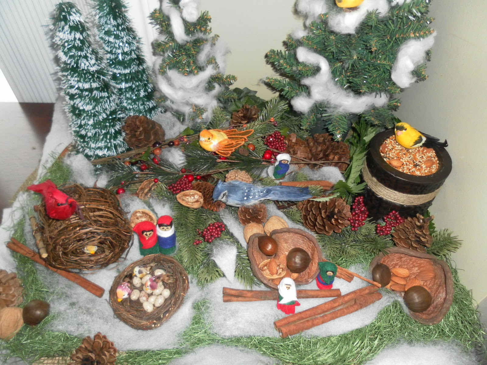 Winter nature table - Winter Nature Table 54