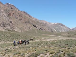 an Aconcagua climb