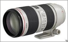 Canon Lens EF 70-200mm F2.8 L USM