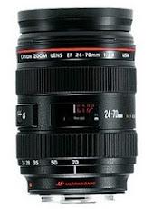 Canon Lens EF 24-70mm F2.8 L USM