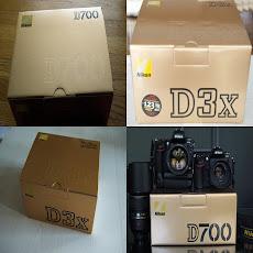 NIKON D3X & D700