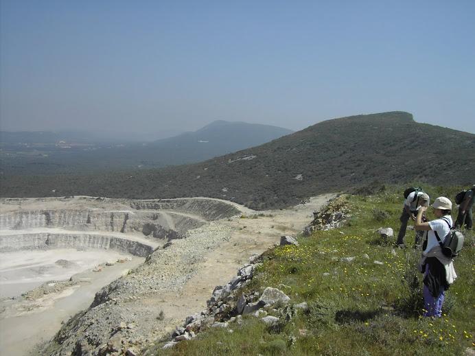 Central de trituração da Serra do Risco