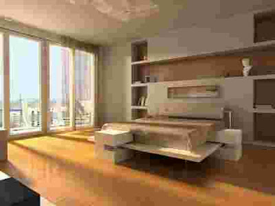 the decoration of the bedroom depends on the type of bed it color