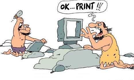 impressora com problemas ou falta de tinta pega lapis e papel