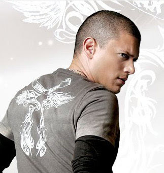 Cool short hair for men -Wentworth Miller Buzz Cut