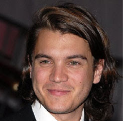 Shag mens hairstyles tuxedo from Emile Hirsch