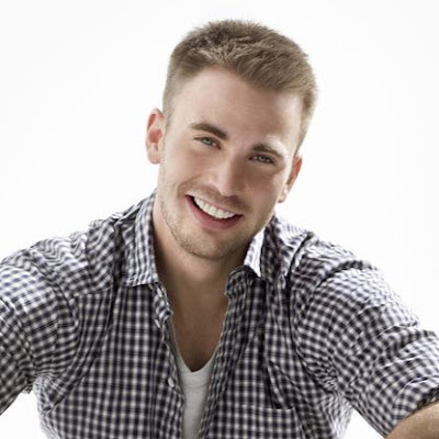 short guy hairstyles. Cool short hairstyle from Chris Evans. Chris Evans short hairstyle
