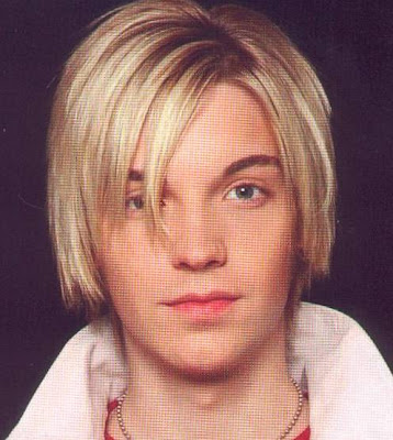 Alex Band straight hairstyle