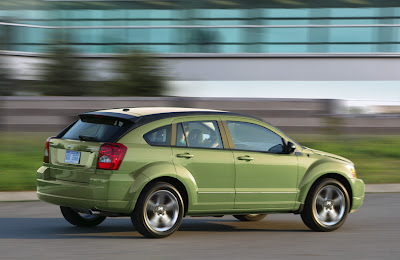 Dodge Caliber 2010 - Rear Side Race